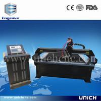 Unich competitive price iron cutter/metal cutting machine1530/small cnc plasma cutting machine