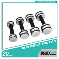 New Style High Quality Chromed Dumbbell With Rubber Ring