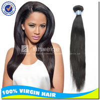 3pcs lot 22/24/26 Free shipping unprocessed virgin peruvian straight hair, soft dread hair piece