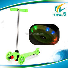 micro maxi mini kick scooter with LED wheel for kids