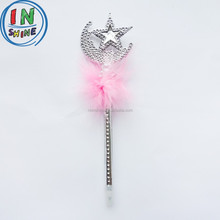 Star feather promotional ball pen , cute star ball pen for gift