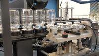 2cavity Wide Neck Jar Bottle PET Stretch Blow Moulding Machine (ZA2000-JAR)