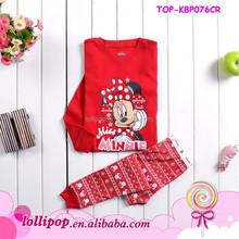 2015 fashion style pajamas for girl lovely baby monkey pajamas child wear