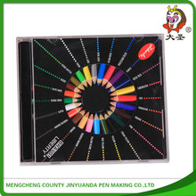 Promotional stationery set PVC bag pencil set & color pencil