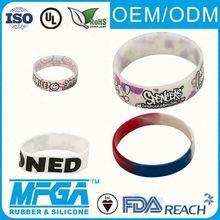 personalized rubber wrist band