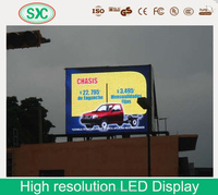 Low consumption lcd advertising display computer pillar mounted led board module factory