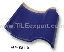 Glazed Clay Roof Tiles