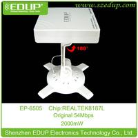 High power 2000mw wifi usb wireless adapter omni 10 dbi antenna RTL 8187L chipset