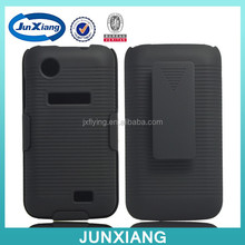 2015 china whliesale holster combo case clip kickstand case for LENOVO A369