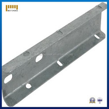 Aluminum sheet metal bending works, Custom made metal sheet bending part