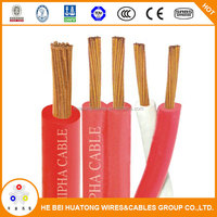 Low voltage 1.5mm2 2.5mm2 copper core electric wire NYAF cable