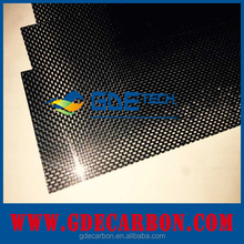 High quality GDE carbon fiber products:carbon fiber tubes/sheets/rods/plates/block
