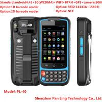 PL40 A1399 IPS Sun Light Readable IP65 industrial dustproof handheld rfid reader writer