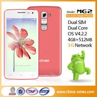 GSM WCDMA 3g wifi java skype android 4.2 dual sim mobile phone