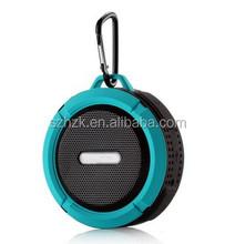 New arrival wireless bluetooth speaker C6 waterproof mini speaker Shower Car Handsfree Receive Call & Music Suction for Phones