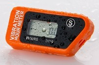 Resettable waterpoof LCD wireless Hour Meter For ATV Motorcycle Dirt Bike Off Road Bike