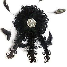 Black Hair Fascinator