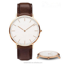 custom Daniel Wellington women and men watch , cheap DW watch design, DW leather watch