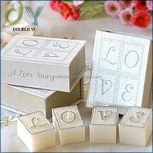Fashion handmade Wholesale Creative Unique Love Story Birthday Candles Gift Wedding Candle