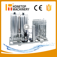 Top quality mineral water production plant