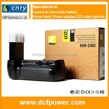 MB-D80 MDD80 D80 Battery Grip Holder For Nikon D80 D90 Camera EN-EL3E With High Quality And Factory Price Made In China