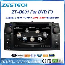 Car Sat Navi headunit for BYD F3 Car Sat Navi headunit with GPS Navigation,Radio,Audi,Bluetooth,RDS,3G,wifi,V-10disc