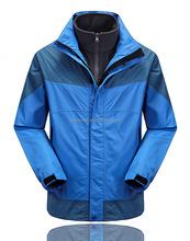 3in1 winter outdoor wear waterproof ski hiking climbing jacket for men