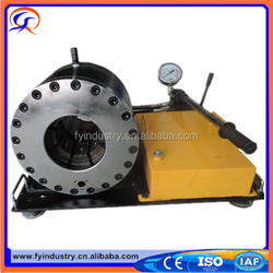 CE high efficiency hydraulic hose assembly machine