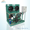 Open type condensing unit with low temperature application