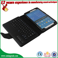 Wholesale Flip Bluetooth keyboard leather case for Samsung Galaxy Tab Pro 8.4 T320 keyboard case