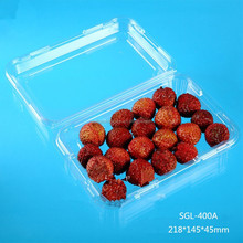 new transparent plastic fruit packaging container in discount
