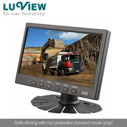 7 inch stand alone TFT LCD car monitor for reversing with hdmi input