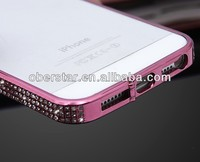 hot selling aluminum metal frame bumper case for A iphone5