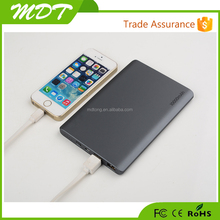 2015 Top selling fashionable gift li polymer 10000mah high quality portable slim power bank