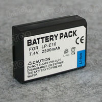 LP-E10 Camera Lithium Battery For Canon EOS 1100D EOS Kiss X50 EOS Rebel T3 digital camera battery