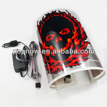 Auto Car LED Equalizer Music Activated Sticker Rhythm Lamp