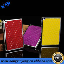 HXY Electroplate chrome plastic case for ipad 4,paypal accept
