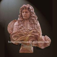 Anglais marbre homme buste