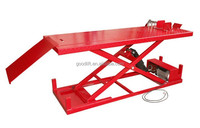 Remote control Hydraulic scissor motorcycle lift for repair motorcycle