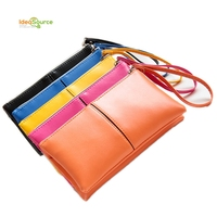 2015 wholesale fashion leather wallet for women