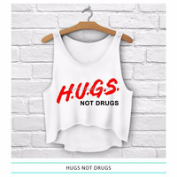 2015 high quality hot sexy loose free size custom printed New design custom crop top for girls