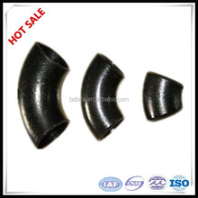 ASME B16.28 LR 45 Degree ms carbon steel pipe Elbow dimentions