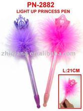 light up princess pen