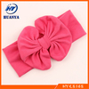fancy knitted baby headband boutique hair bows toddler infant baby cotton strip knot headband