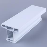 Huazhijie upvc door and window frames profile 20 year guarantee
