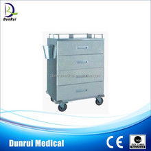 Movable Stainless Steel Hospital Medical Trolley