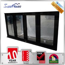 Latest AS2047 standard alumunium folding window with trade assurance service