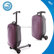 TRAVEL KICK BOARD LUGGAGE SCOOTER MULTI HARDCASE BAG EASY CARRIER BLACK