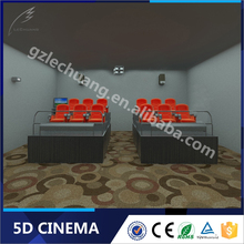 Lechuang Latest Technology Playground Equipment Entertainment Park 3D 4D 5D 6D Cinema Theater Movie System Suppliers