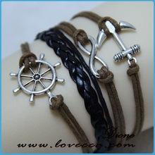 Top selling lucky bird braided bracelet in 2015